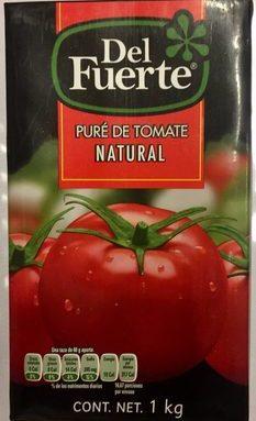 PURE DE TOMATE NATURAL