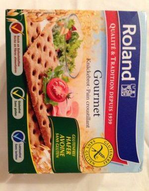Pain Croustillant Gourmet S / Gluten 230 g