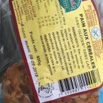 Pain aux cereales sans gluten