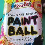 Paint ball bolas de mais