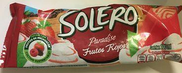Paleta Solero Frutos Rojos Holanda