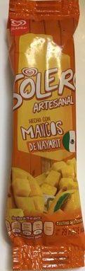 Paleta Solero Mango Holanda