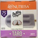 Paleta de yogurt Taro Nutrisa