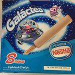 Paleta helada Nestlé Galáctea