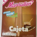 Paletas Heladas de cajeta endulzadas con Stevia Manhattan