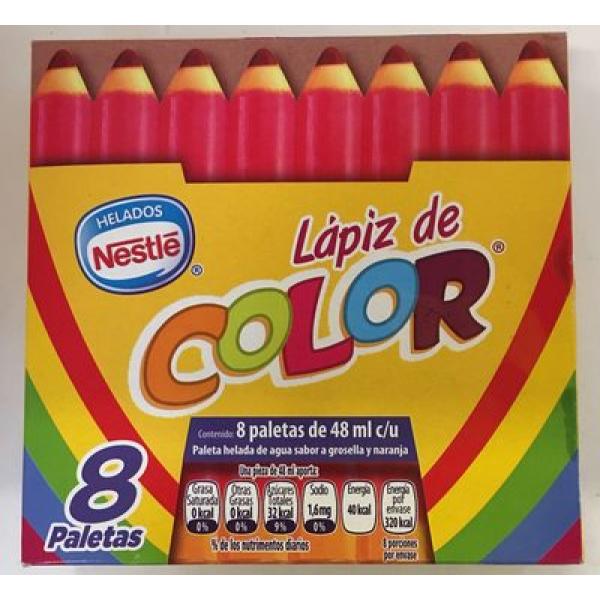 Paletas Lápiz de color Nestle