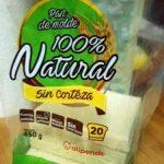 Pan de molde 100% Natural sin corteza