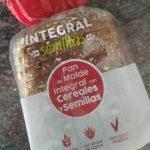 Pan de molde integral con cereales y semillas