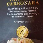 Pancetta carbonara