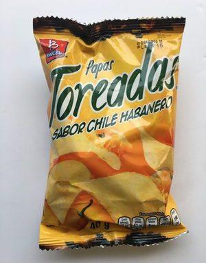 Papas Toreadas sabor Chile Habanero