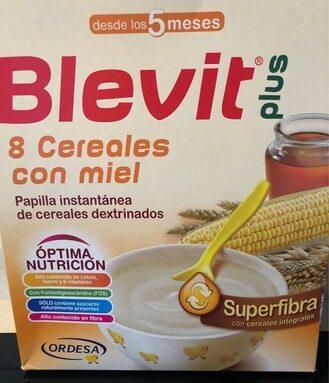 Papilla 8 cereales con miel Superfibra