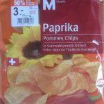 Paprika Pommes Chips