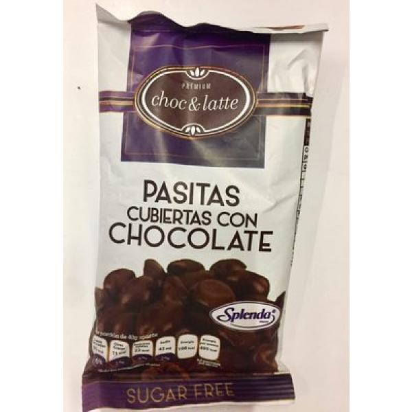 Pasitas cubiertas con chocolate Choc & Latte