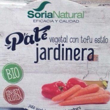 Paté vegetal con tofu estilo jardinera