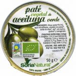 """Paté vegetal de aceitunas ecológico """"Soria Natural"""""""