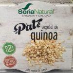 Paté vegetal de quinoa