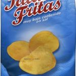 Patatas fritas bajo contenido en sal