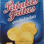 Patatas fritas onduladas alipende