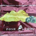 Patatas fritas sabor aceituna negra