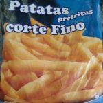 Patatas prefritas corte fino
