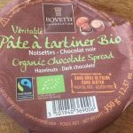 Pate a tartiner bio noisettes -chocolat noir