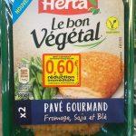 Pavé Gourmand Fromage soja et blé