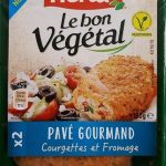 Pavé gourmand courgettes et fromage