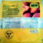 Peaches & Cream Fudge