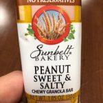 Peanut sweet & salty