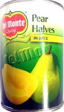 Pear Halves in Juice