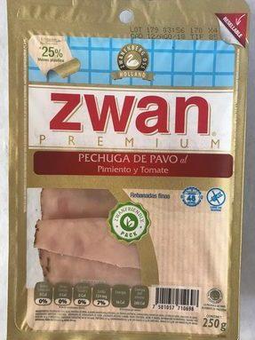 Pechuga de pavo al pimiento y tomate Zwan