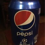 Pepsi Soft Drink Tin