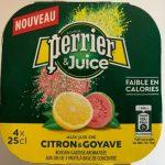 Perrier & Juice citron & goyave