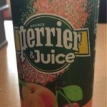 Perrier juice Peach and Cherry