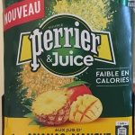 Perrier juice ananas mangue