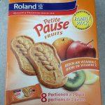 Petite Pause FRUITS BISCUITS AUX CÉRÉALES