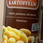 Petites pommes de terre | kleine Kartoffeln