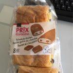 Petits pains aux chocolat et à l'huile de palme