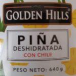 Piña deshidratada con chile