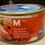 Piatto di tonno
