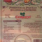 Pimentos del Piquillo - Rellenos de Chipirones