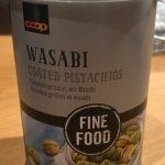 Pistaches grillées au Wasabi
