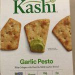 Pita crisp with   Basil n mild garlic blend