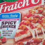 Pizza Fraîch'up spicy chicken