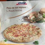 Pizza de nos régions : L'Alsacienne