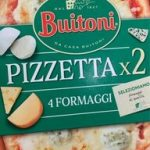 Pizzetta 4 fromages