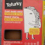 Plant-Based mince chorizo style