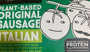 Plant based original sausage italian
