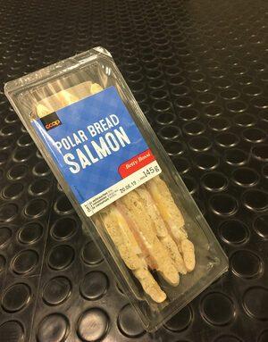 Polard bread Salmon