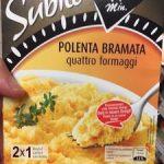 Polenta Bramata quattro formaggi